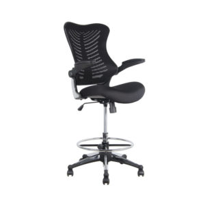 OF-2001STBK Office Factor Stool Chair