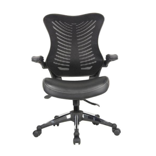 OF-2002BK Office Factor Leather Seat Chair