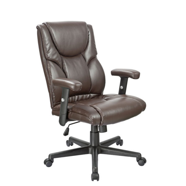 OF-4000BR Brown Executive Office Factor Chair