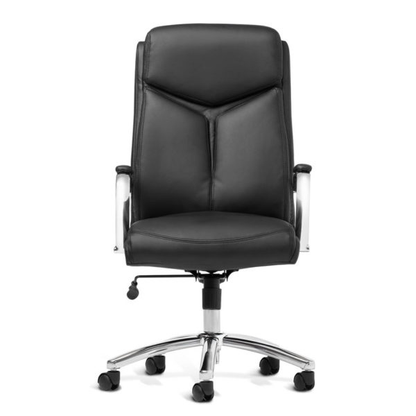 OF-1111BK Leather Office Factor Chair