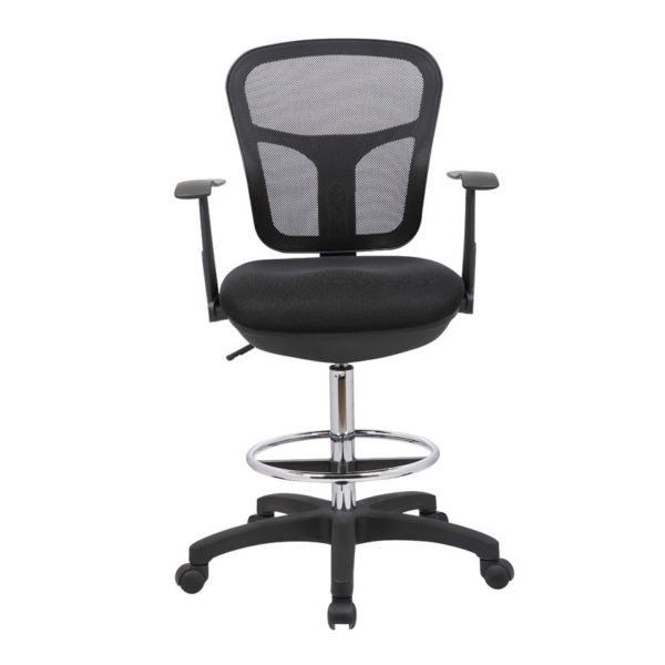 OF-137STBK Office Factor Stool Chair