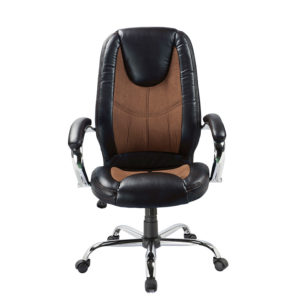 OF-71BK Leather Office Factor Chair