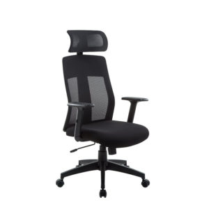 OF-5000BK-2 Office Factor High Back Executive Chair