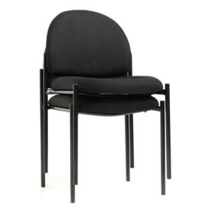 OF-6200BK Office Factor Stackable Chairs