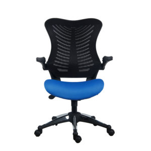 OF-2001BKBL Office Factor Blue Black Chair