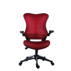 OF-2001BY Office Factor Burgundy Red Chair